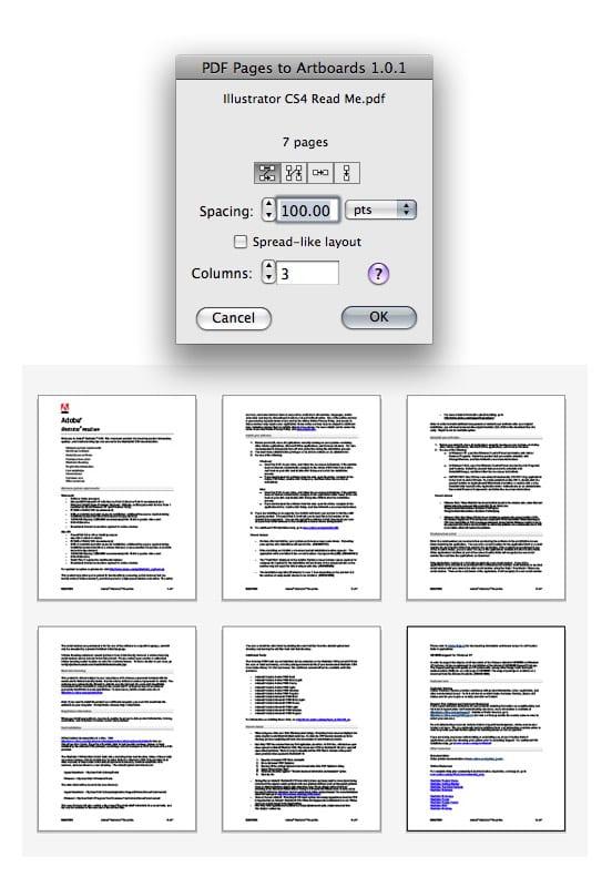 Illustrator CS5一次导入多页PDF 脚本下载 - whyeming - 老胤祥 YOU CAN, DO IT!